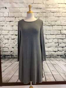Simply Southern Dress (Dark Grey)