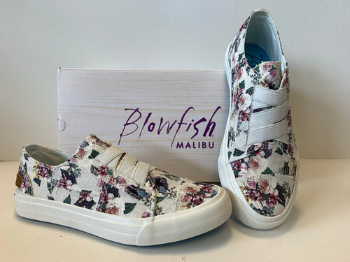 Blowfish off white Bella print floral shoe