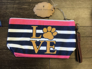 Simply Southern Canvas Pouch