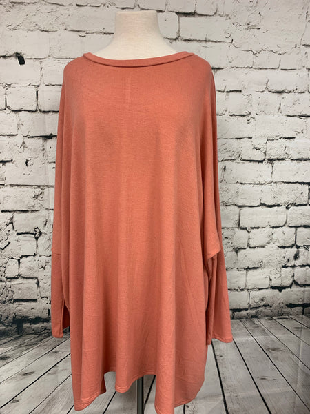 Zenana Plus Poncho Tunic