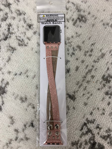 Apple Watch Band Leather Cross Snap 38mm