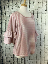 Load image into Gallery viewer, Umgee Round Neck Top (Rose)