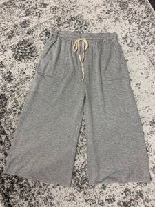 Knit Pants (Heather a Grey)