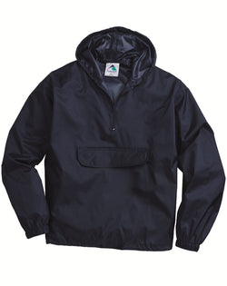 Packable Half-Zip Hooded Pullover Jacket-Augusta Sportswear-Pacific Brandwear