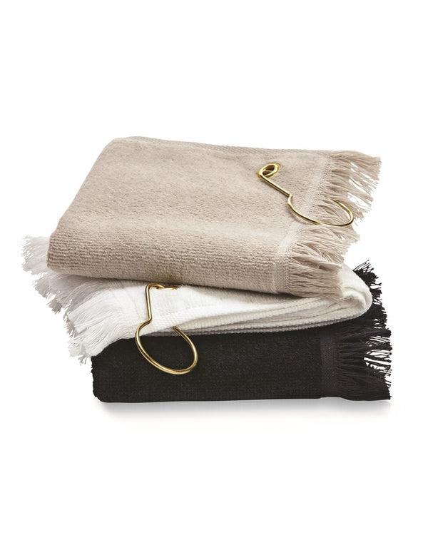 Fingertip Towel with Corner Grommet and Hook-Towels Plus-Pacific Brandwear