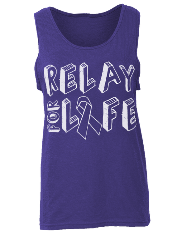 Relay For Life Tank-Pacific Brandwear-Pacific Brandwear