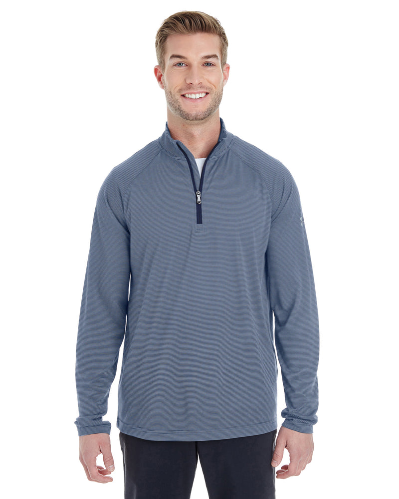 Men's Tech Stripe Quarter Zip-Under Armour-Pacific Brandwear