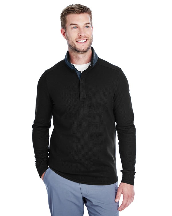 Men's Corporate Quarter Snap Up Sweater Fleece-Under Armour-Pacific Brandwear