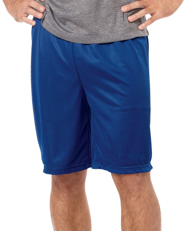 Mini Mesh 9'' Inseam Shorts-Badger-Pacific Brandwear