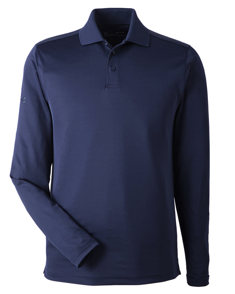 Mens Corporate Long-Sleeve Performance Polo-Under Armour-Pacific Brandwear
