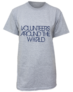 Volunteers Around the World T-Shirt-Pacific Brandwear-Pacific Brandwear