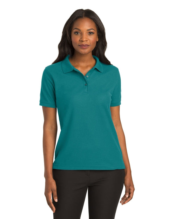 Port Authority® Ladies Silk Touch™ Polo-Port Authority-Pacific Brandwear