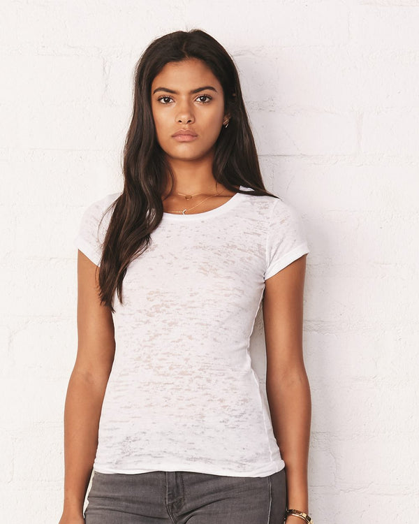 Women's Burnout Tee-BELLA + CANVAS-Pacific Brandwear