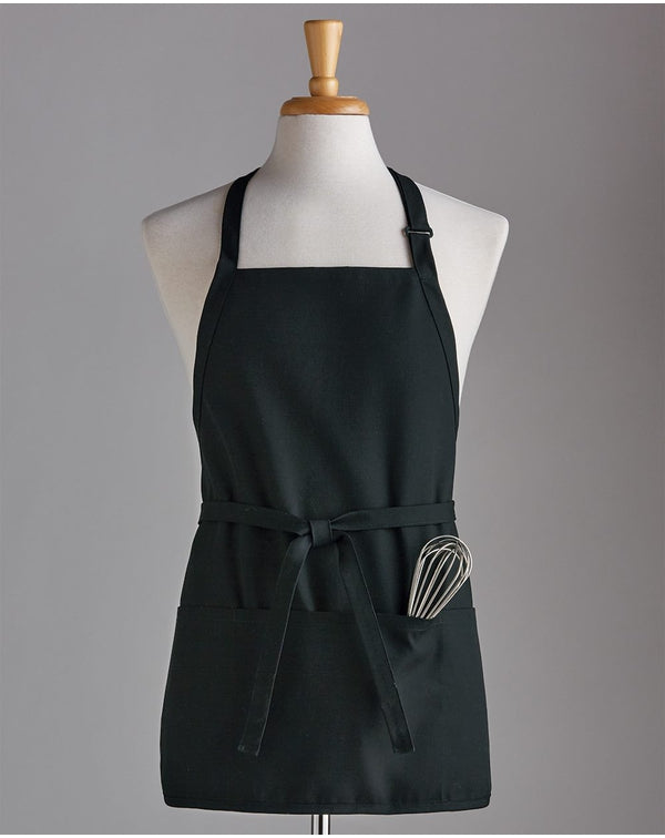 Short Premium Bib Apron-Chef Designs-Pacific Brandwear