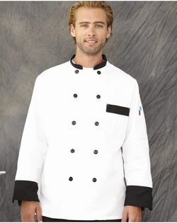 Chef Designs Garnish Chef Coat-Chef Designs-Pacific Brandwear