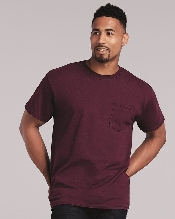 Ultra Cotton Pocket T-Shirt-Gildan-Pacific Brandwear