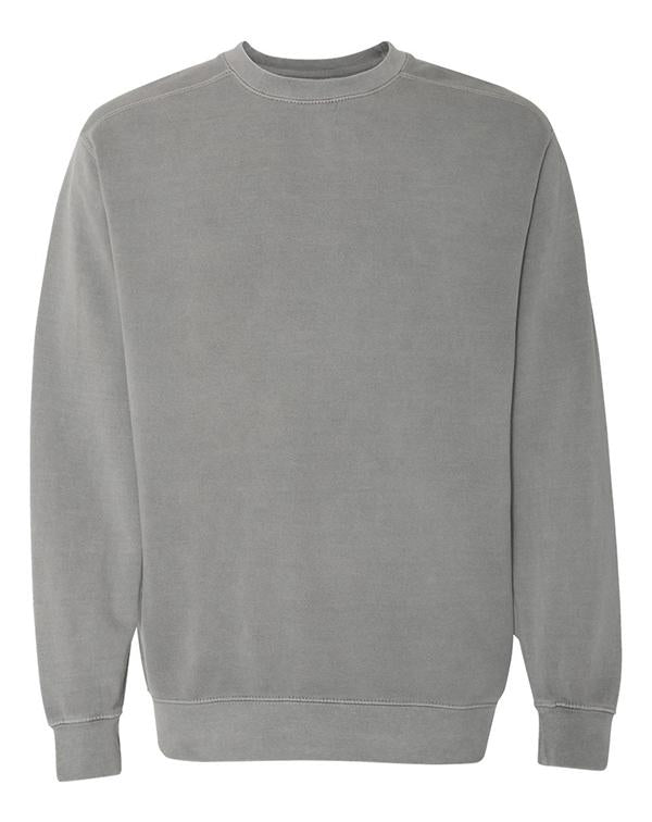 Comfort Colors Garment Dyed Ringspun Crewneck Sweatshirt-Comfort Colors-Pacific Brandwear