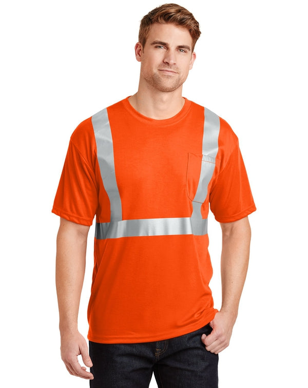 CornerStone® - ANSI 107 Class 2 Safety T-Shirt-CornerStone-Pacific Brandwear