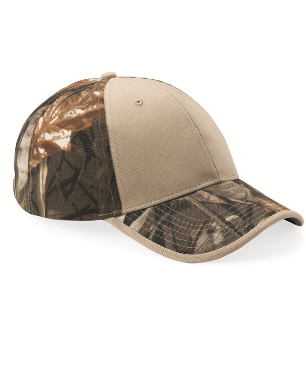 Camo Cap with Solid Front-Kati-Pacific Brandwear