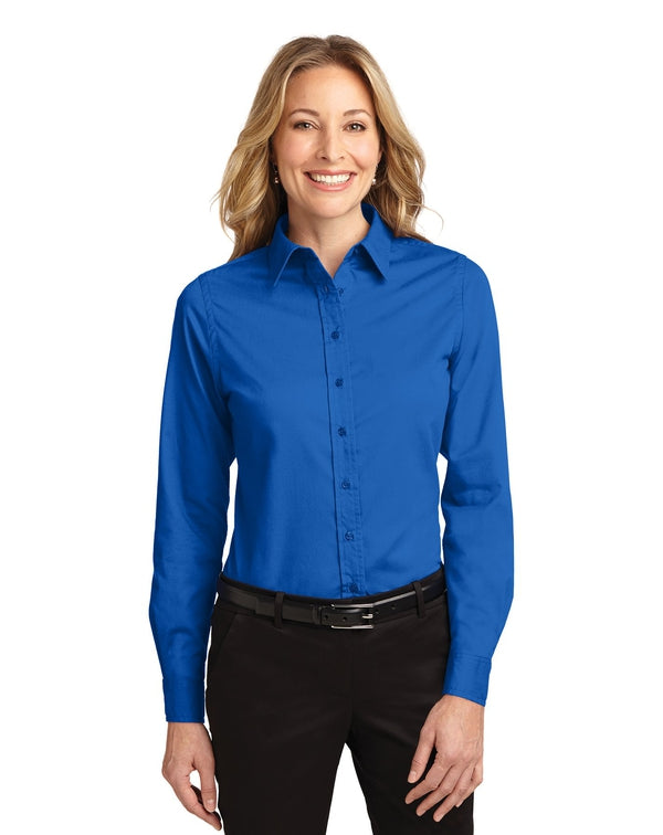 Port Authority® Ladies Long Sleeve Easy Care Shirt-Port Authority-Pacific Brandwear