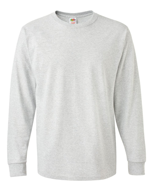 HD Cotton Long sleeve T-Shirt-Fruit of the Loom-Pacific Brandwear
