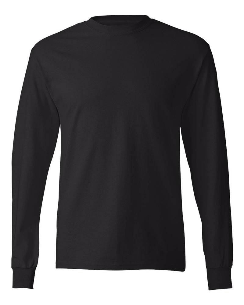Tagless Long sleeve T-Shirt-Hanes-Pacific Brandwear