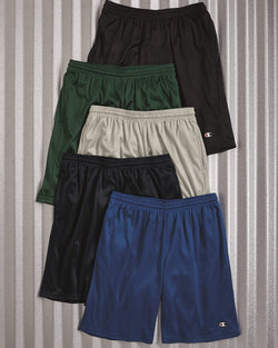 "Polyester Mesh 9"" Shorts with Pockets-Champion-Pacific Brandwear"