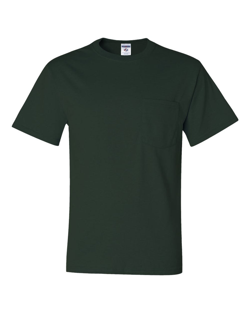 Dri-Power 50/50 T-Shirt with a Pocket-JERZEES-Pacific Brandwear