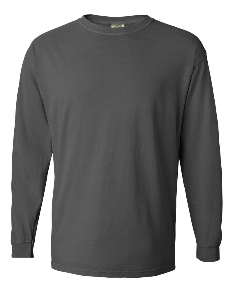 Garment-Dyed Midweight Ringspun Long sleeve T-Shirt-Comfort Colors-Pacific Brandwear