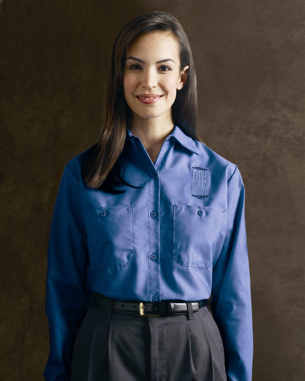 Women's Industrial Work Shirt-Red Kap-Pacific Brandwear