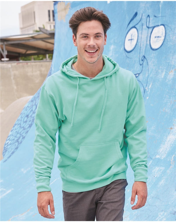 Midweight Hooded Sweatshirt-Independent Trading Co.-Pacific Brandwear