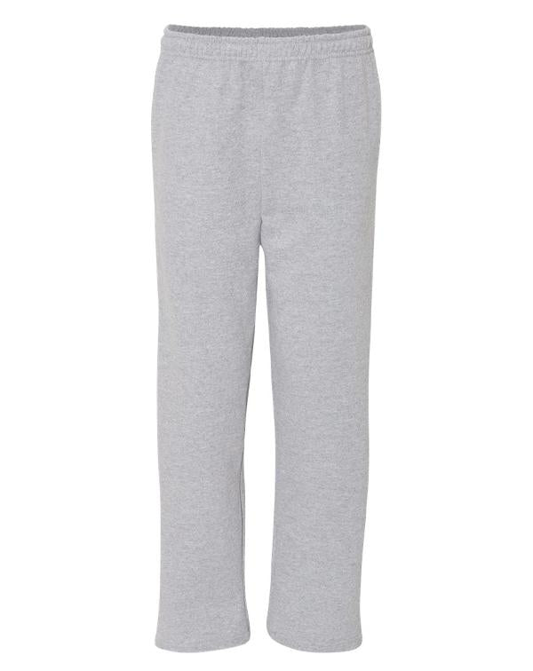 Gildan Open-Bottom Sweatpants with Pockets-Gildan-Pacific Brandwear
