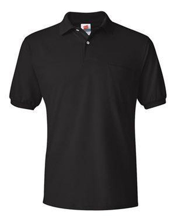 Ecosmart Jersey Sport Shirt with Pocket-Hanes-Pacific Brandwear