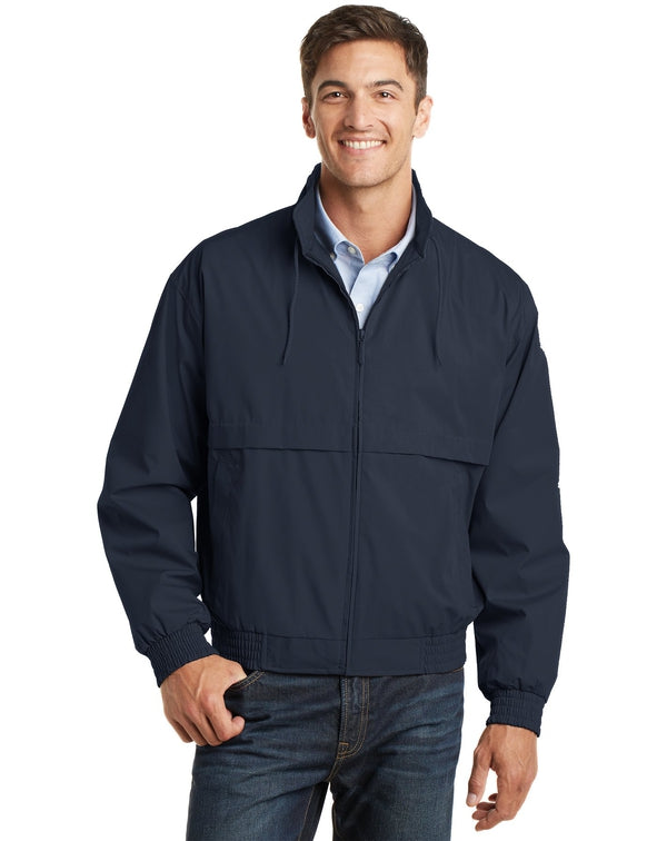 Port Authority® Classic Poplin Jacket-Port Authority-Pacific Brandwear