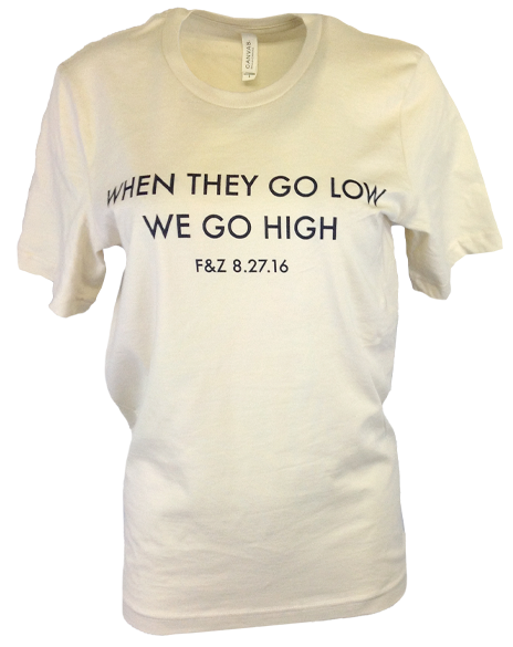 When They Go Low Tee-Pacific Brandwear-Pacific Brandwear