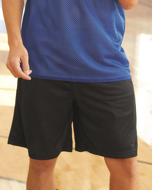 "Pro Mesh 9"" Shorts with Pockets-Badger-Pacific Brandwear"