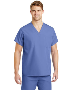 CornerStone® - Reversible V-Neck Scrub Top-CornerStone-Pacific Brandwear