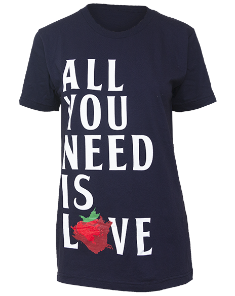 All You Need Is Love Tee-Pacific Brandwear-Pacific Brandwear
