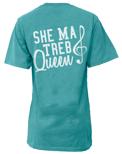 Treblemakers She Ma Treb Queen Pocket Tee-Pacific Brandwear-Pacific Brandwear