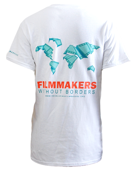 Filmmakers without Borders Map Tee-Pacific Brandwear-Pacific Brandwear