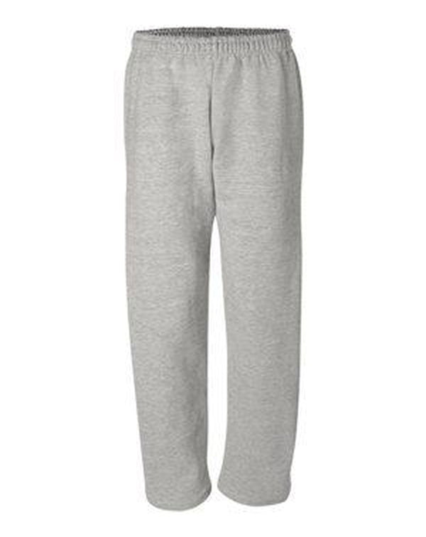 DryBlend Open-Bottom Sweatpants with Pockets-Gildan-Pacific Brandwear