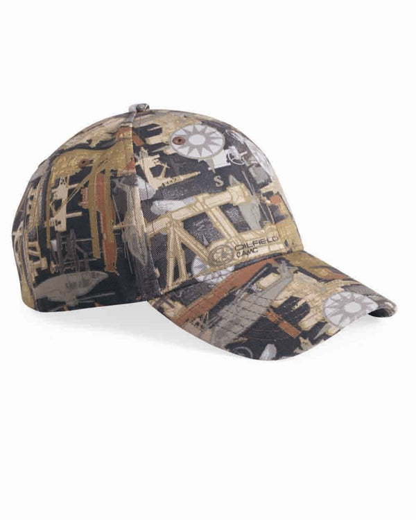 Structured Oilfield Camo Cap-Kati-Pacific Brandwear