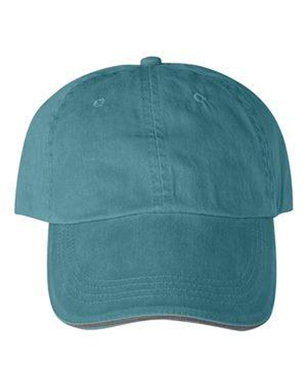 Sandwich Trim Pigment-Dyed Twill Cap-Anvil-Pacific Brandwear