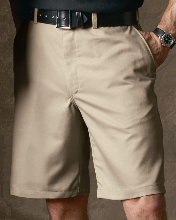 Plain Front Shorts-Red Kap-Pacific Brandwear