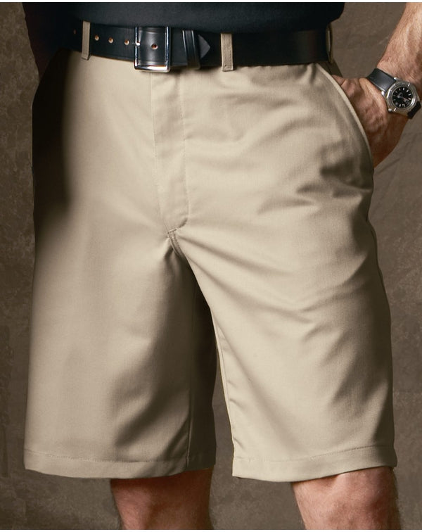 Red Kap Plain Front Shorts-Red Kap-Pacific Brandwear