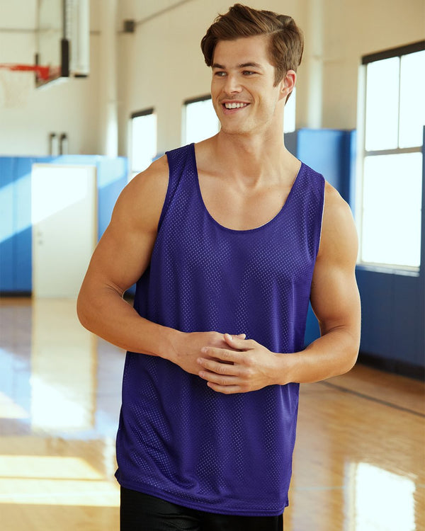 Pro Mesh Reversible Tank Top-Badger-Pacific Brandwear