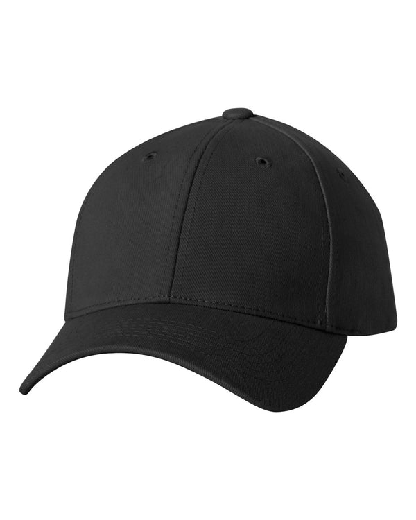 Heavy Brushed Twill Structured Cap-Sportsman-Pacific Brandwear