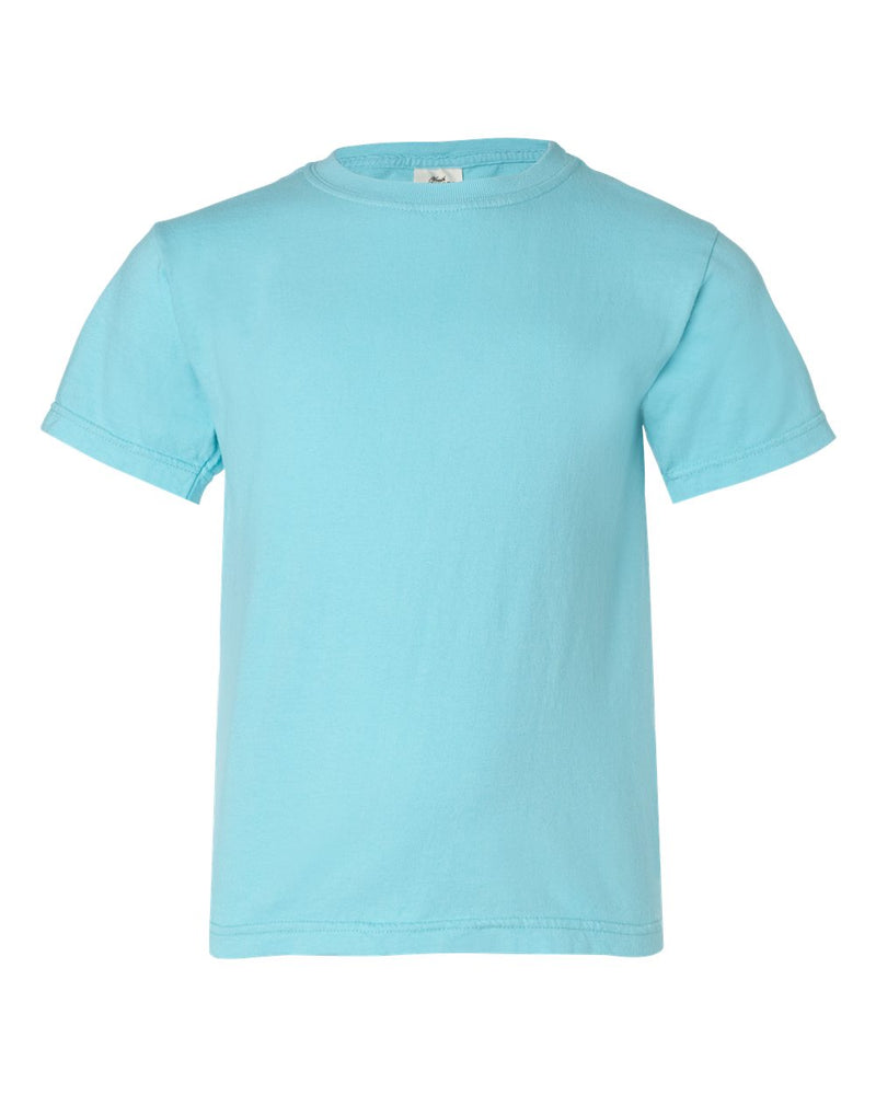 Garment-Dyed Youth Midweight T-Shirt-Comfort Colors-Pacific Brandwear