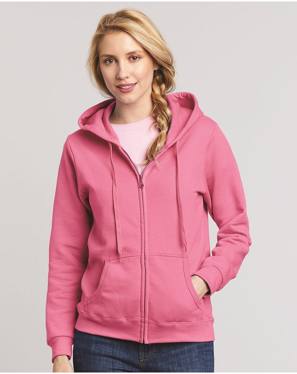 Heavy Blend Women's Full-Zip Hooded Sweatshirt-Gildan-Pacific Brandwear