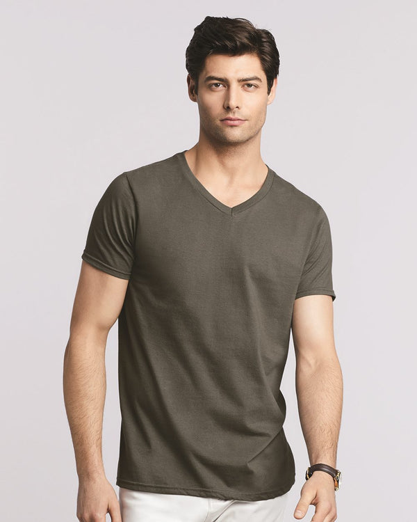 Softstyle V-Neck T-Shirt-Gildan-Pacific Brandwear